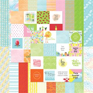 Picture of Summer Designer Cardstock